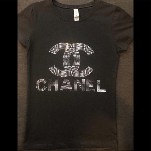 c085640c Chanel Girls Bling (rhinestone) Tee!
